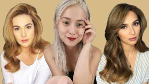 hair color for pinays seven flattering shades of blonde for pinays pep ph