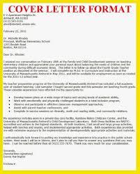 Child Care Resume Cover Letter Cover Letter For Online Job Application My Document Blog Ideas