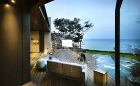 a u0027tolan house is a seafront home built with rocks excavated during
