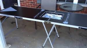 build a beer pong table review beer pong table youtube