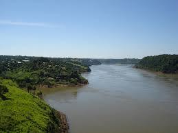 Parana River Map Parana River Images Reverse Search
