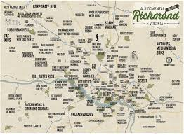 Miami Design District Map by Judgmental Maps Richmond Va By Benhaus Design Copr 2015 Benhaus