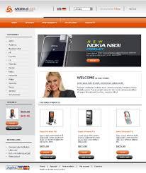 website template 20886 mobile phone service custom website