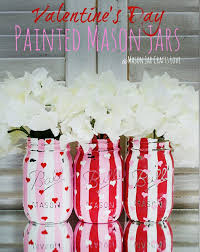 Valentines Day Decor Images by 54 Mason Jar Valentine Gifts And Crafts Diy Joy