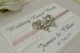 wedding guestbook impressive wedding guest book personalised wedding guest books