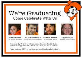 create your own graduation announcements unique college graduation party invitations wording party sweet