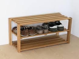 tufted ottoman bench with shoe storage and nailhead u2014 steveb