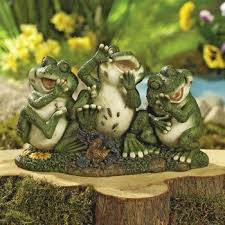ideas diy lovely frog garden decor from tires frog outdoor
