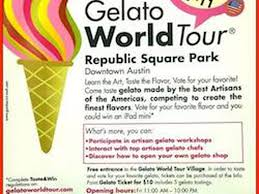 Austin Culture Map by Gelato World Tour Coming To Austin May 9 11 Eater Austin