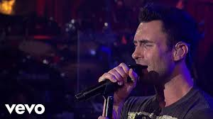maroon 5 makes me wonder live on letterman youtube