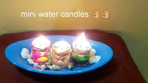 diy water candles how to make a watercandle diwali decoration