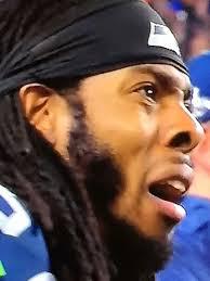 Sad Face Meme - superbowl 49 richard sherman sad face meme imgur tumblr football