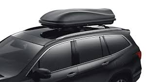 How To Install Roof Rack On Honda Odyssey by Accessories The 2017 Pilot Suv Honda Canada