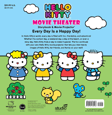 kitty movie theater storybook u0026 movie projector book