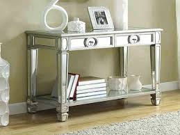 Mirrored Accent Tables Coffee Tables Smoked Mirrored Accent Table