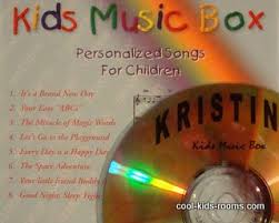 Personalized Music Box Childrens Songs Kids Music Box