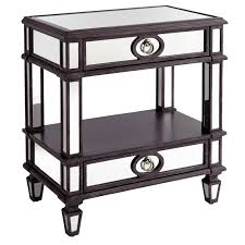 furniture mirrored nightstand malm nightstand tall nightstands
