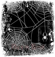 green halloween spiders on black background spider web backgrounds group 38