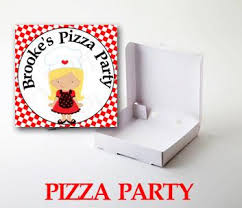 personalized pizza boxes mini white party pizza boxes 3 5 set of 20 the lovely party