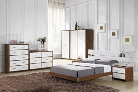 White Solid Wood Bedroom Furniture by White And Brown Bedroom Furniture Uv Furniture