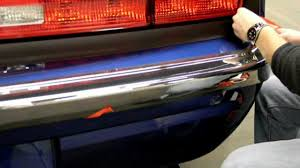 Dodge Challenger Front Bumper - retro usa challenger rear bumper installation youtube