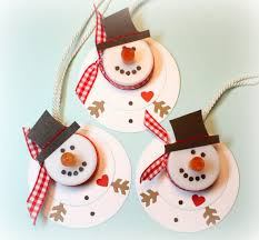 s creations snowman tea light ornaments