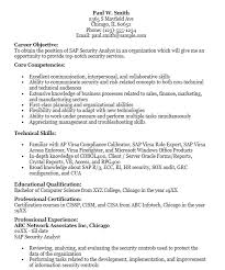 information security analyst resume 16 free sle sap security analyst resumes best resumes 2018