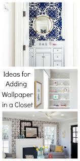 wallpaper in a closet inspiration and ideas closet wallpaper