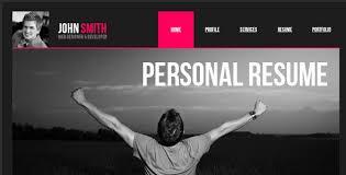 personal vcard cv resume templates social media and tech blog