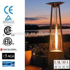 Pyramid Patio Heaters Glass Tube Flame Patio Heater Glass Tube Flame Patio Heater