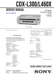 sony wiring diagram for car radio cdx l300 diagrams free wiring