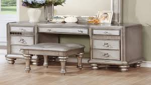 silver vanity table set silver bling vanity set by studio home youtube
