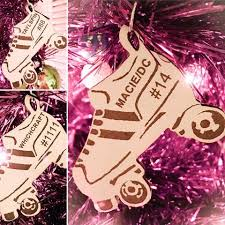 roller derby ornaments personalized for you metal