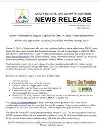 memphis light gas and water customer service home weatherization program applications memphis light gas
