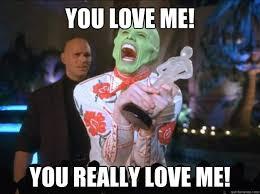 You Love Me Meme - you love me you really love me stats thankyou nerfed llamas
