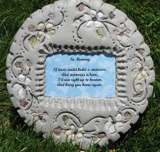 memorial stepping stones pet memorials