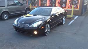 custom lexus es300 rimtyme of charlotte rolling out a 2006 lexus es330 sitting on
