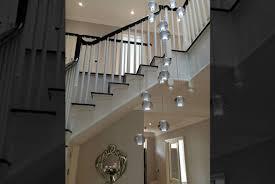 Modern Chandeliers Uk Stairwell Chandeliers Modern Glass Chandeliers And
