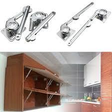2x lift lid support kitchen cabinet cupboard door hinges stays 80