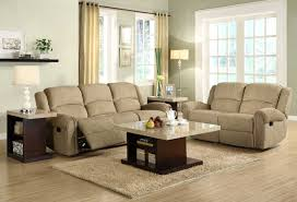 Chenille Living Room Furniture by Homelegance Esther Reclining Sofa Set Beige Chenille U9712be 3