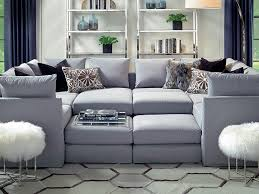 Down Sectional Sofa Franco Sectional W Ottoman And Eco Down Blend In Sweet Grass Ecru
