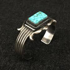 bracelet silver turquoise images Native american silver and turquoise bracelet mahakala fine arts JPG