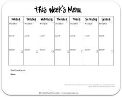 printable meal planner free printable weekly dinner menu gidiye redformapolitica co