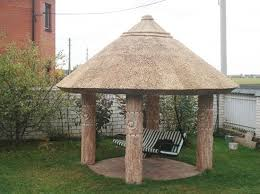 Small Gazebos For Patios Thatched Roofing For Gazebos And Sheds Gorgeous Backyard Designs