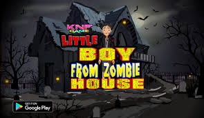 Zombie House Knf Escape Little Boy From Zombie House Escape Games