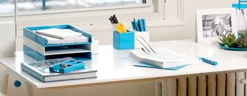 aqua blue desk accessories office desk accessories three styles at home with kim vallee