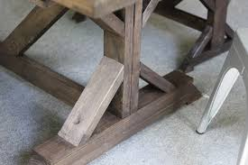 anthro inspired outdoor farmhouse table u0026 benches erin spain