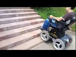 stair climbing wheelchair youtube