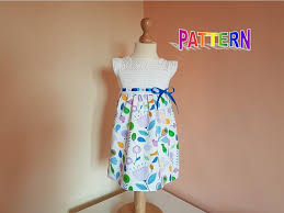 dress pattern 5 year old crochet fabric dress pattern for girls sizes 1 to 5 years