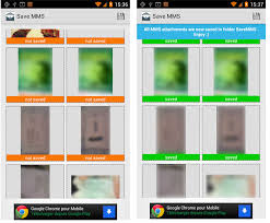 how to save to android save all pictures from messages on android